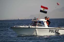 حرس الحدود المصري يعلن انقاذ 11 مواطناً تركياً من الغرق