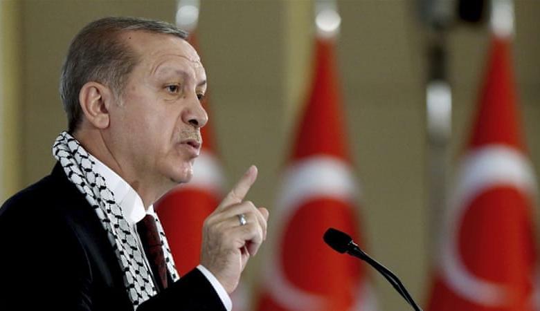 """الرئيس التركي """"يرفض"""" الأمر الواقع الجديد بالقدس"""