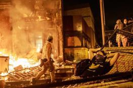"""اميركا : الحرس الوطني يتدخل لقمع """"تظاهرات الغضب """""""