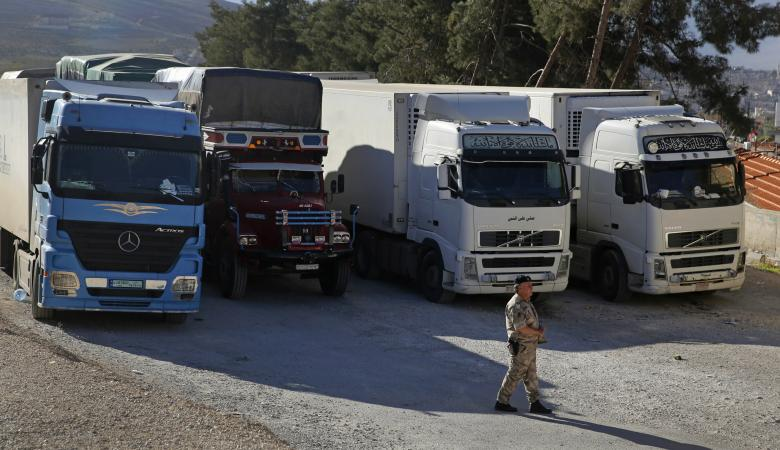 الاحتلال يقرر منع الفلسطينيين من تصدير المنتجات عبر الاردن