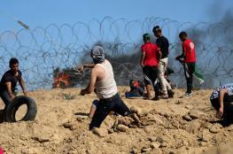 اصابة 3 مواطنين برصاص الاحتلال وسط قطاع غزة