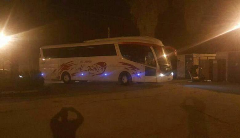 الاحتلال يستولي على حافلتين من شركة محلية بنابلس