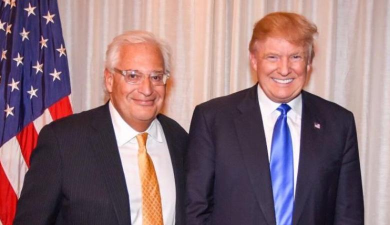 السفير الأمريكي يكشف موقف بلاده من نية إسرائيل ضم الضفة