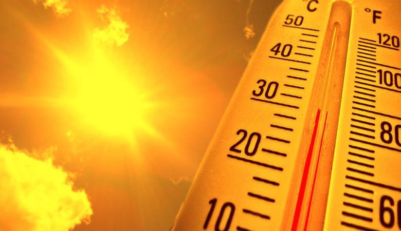 حالة الطقس :  تواصل الأجواء الحارة