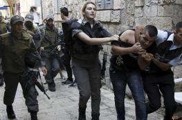 """الاحتلال اعتقل """" 431 """" موطناً خلال الشهر الماضي"""