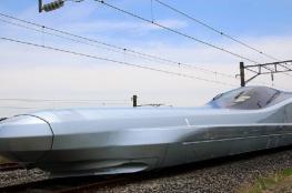 اليابان تكشف عن أسرع قطار طلقة في العالم