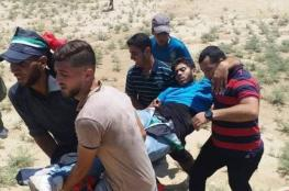 4 إصابات برصاص الاحتلال قرب مخيمات العودة شرق القطاع