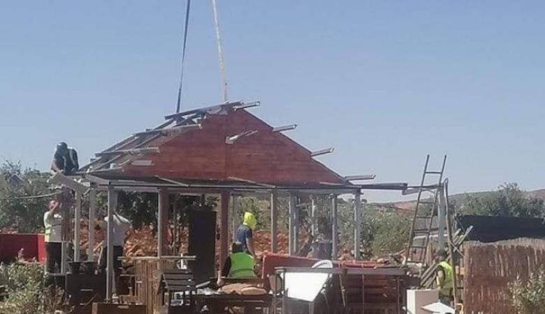 الاحتلال يهدم غرفة زراعية جنوب نابلس