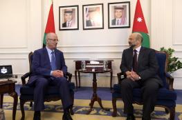 الحمد الله والرزاز يجتمعان لتكريس التعاون بين الاردن وفلسطين