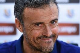 انريكي : نسعى للفوز امام اتليتكو مدريد