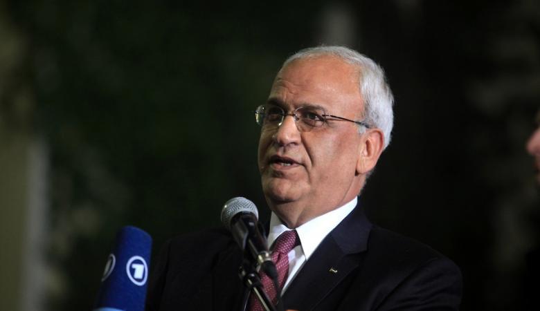 عريقات لوفد أمريكي: لا حل دون قيام دولة فلسطينية