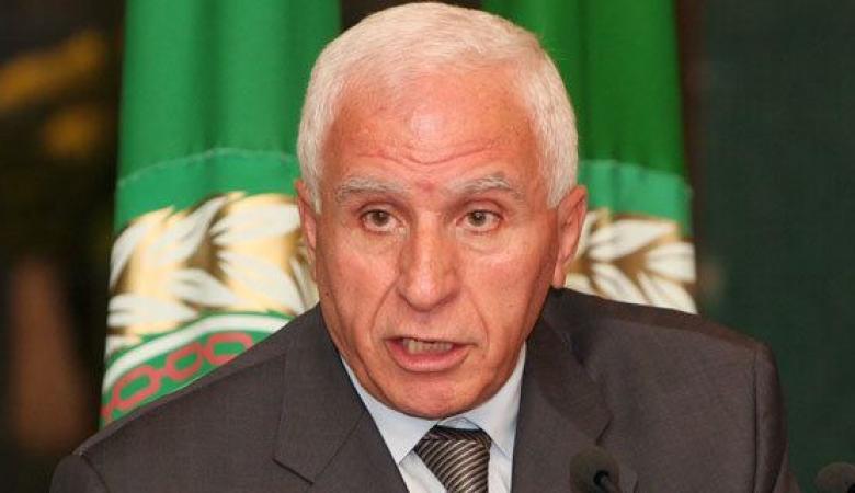الأحمد: التطبيع لن يمر ولا حل إلا بإقامة دولة فلسطينية