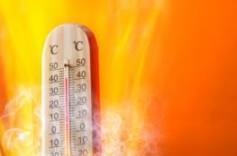 حالة الطقس: درجات الحرارة أعلى من معدلها العام بخمس درجات