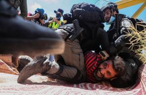 الاحتلال يعتدي على  تظاهرة منددة بالاستيطان في حارس قضاء سلفيت
