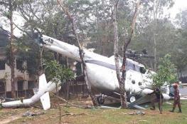 وزير الدفاع الكويتي ينجو بعد تحطم طائرته المروحية في بنغلادش
