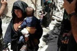 امرأة في الموصل تفجر نفسها وهي تحمل رضيعها وسط جنود عراقيين