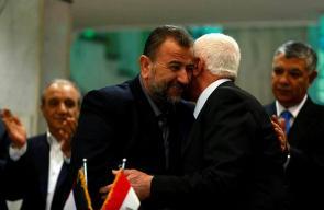توقيع اتفاقية انهاء الانقسام في القاهرة بمقر المخابرات المصرية