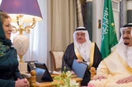 روسيا تردُّ على بريطانيا بإرسال دبلوماسيةٍ بوشاحٍ لكسب ودِّ السعودية، وهكذا بررت ارتدائها له