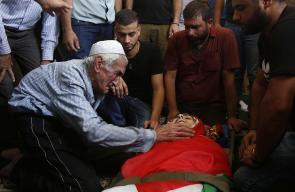 جانب من تشييع جثمان الشهيد براء اسماعيل حمامدة في بيت لحم