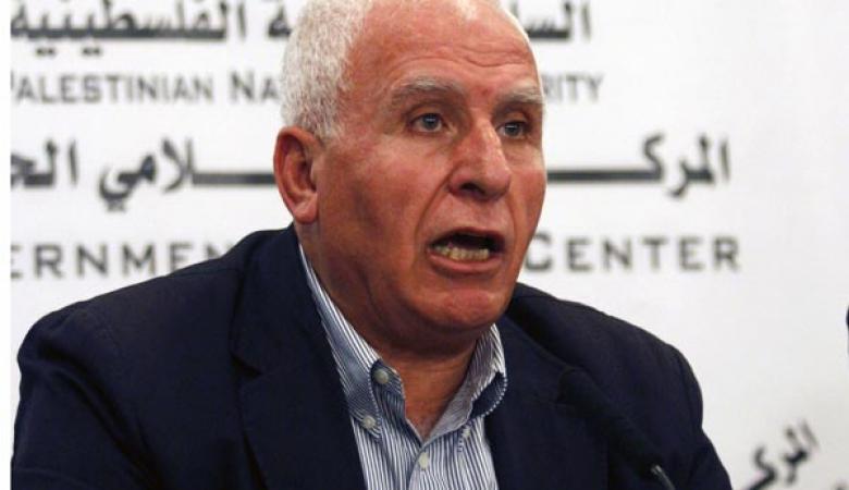 الأحمد: القيادة في حالة استنفار دائم لإفشال مخطط الضم