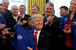 """ترامب : """"القمر جزء من المريخ"""" !"""