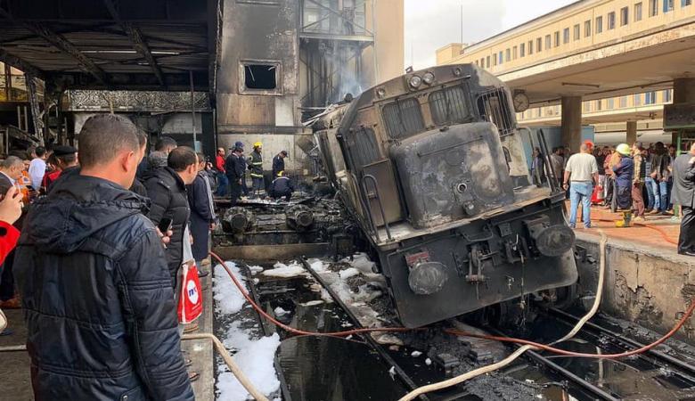 قطار القاهرة ...مصر تكشف أسباب الفاجعة