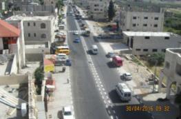 الاشغال تحدد موعد الانتهاء من مشروع طريق حوارة-نابلس