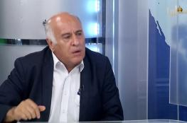 الرجوب : جرائم حماس لا يمكن تجاهلها او نسيانها