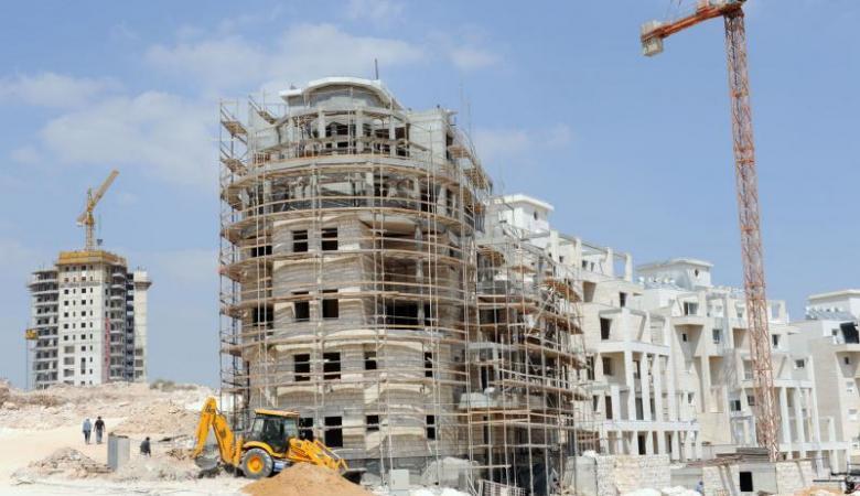 فلسطين : انخفاض على اسعار تكاليف البناء