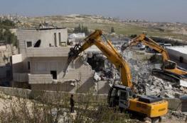 الاحتلال يخطر بهدم 4 منازل في محافظة الخليل