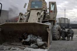البلدوزر.. أهم سلاح في معارك تحرير الموصل