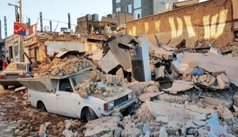 6 هزات أرضية تضرب طهران