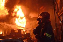 الدفاع المدني يخمد أكثر من 940 حريقا في الضفة الغربية