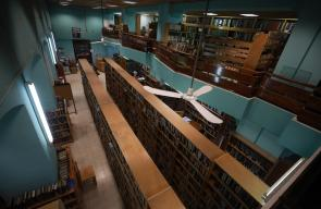 تركيا تنهي ترميم مبنى مكتبة بلدية نابلس، شمال الضفة الغربية