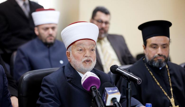 رجال الدين لحماس : لن نسمح باستباحة الدم الفلسطيني
