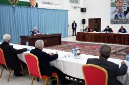 """الرئيس يترأس اجتماعا لمركزية """"فتح"""""""