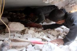 الطيران الروسي يقتل مدنيين ويوقع جرحى شرق حلب المحاصرة