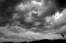 حالة الطقس : أجواء غائمة وباردة ومغبرة