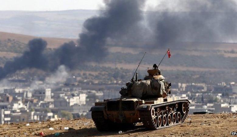 "مقتل "" 21 "" عنصرا من تنظيم داعش في قصف تركي شمالي سوريا"