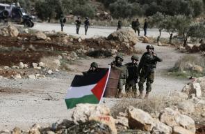 قوات الاحتلال تقمع مسيرات سلمية بالضفة الغربية