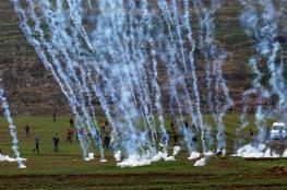 اصابة رضيعة وعشرات المواطنين خلال اقتحام قوات الاحتلال لقرية دير نظام غرب رام الله