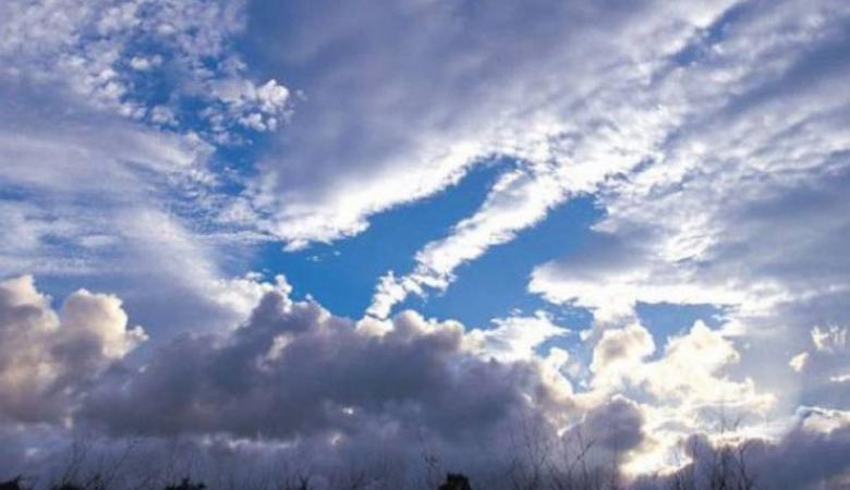 حالة الطقس : درجات الحرارة اعلى من معدلها السنوي بحوالي 9 مئوية