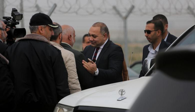 الوفد الامني المصري يصل رام الله وغزة  قريباً