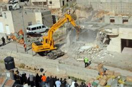 الاحتلال هدم 63 منشأة فلسطينية بالقدس منذ بداية العام الحالي
