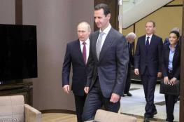 بوتن للأسد: حان وقت العملية السياسية