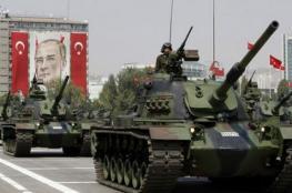 الجيش التركي يرسل تعزيزات عسكرية  إلى الحدود مع سوريا