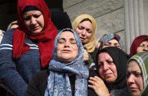 إستشهاد الشاب حمزة يوسف نعمان زماعرة (19 عاما)، أثناء مواجهات مع جيش الاحتلال في حلحول