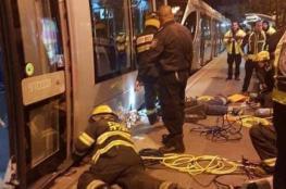 مصرع شابة تحت عجلات القطار في القدس