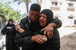 تشييع جثامين 5 شهداء في قطاع غزة