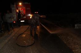 3 إصابات إحداها خطيرة في حادث سير بالخليل